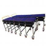 Buy cheap Skate Wheel Flexible Roller Conveyor Customized Size High Efficiency product