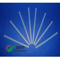Buy cheap Light White Transparent Hot Melt Adhesive Stick  , Solid High Strength Hot Glue Gun Sticks product