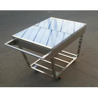 Buy cheap Stainless Steel Kitchen Condiments Trolley For Wok Stove with 12 Containers Capacity product