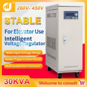 Buy cheap Voltage Stabilizer 30 kVA Three Phase for Elevator Specific product