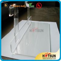 China Lucite shoe racks for sale, shoe store retail acrylic display rack, clear shoe racks for store on sale