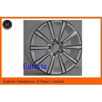 Buy cheap 17 inch Elegant Styling Wheels White With Black Electrophoresis After Market Wheels product