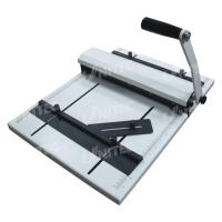 Buy cheap Manual Creasing Machine Paper Perforator Working  With V-Shaped Counter Knife HCP315 product