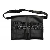 Buy cheap Faux Leather Professional Cosmetic Makeup Brush Apron Bag Artist Belt Strap Holder product