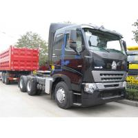 China SINOTRUK HOWO A7 Tractor Head , Heavy Duty 420 HP Prime Mover 6x4 Tractor Head on sale