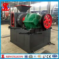 Buy cheap Double roller hydraulic iron ore powder briquette making machine supplier product