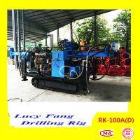 2015 Hot Sale China Crawler Mounted Hydraulic Geotechnical Drilling Rig RK-100A(D)