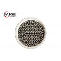 G100 Aisi 1010 Carbon Steel Sphere , Professional Round Steel Balls Bright Surface