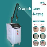 China Q switched Nd YAG laser machine for sale/ laser tattoo removal machine for sale