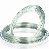Buy cheap Silver Plated Copper Wire for rivet and Jewelry Making with SGS, RoHS approved product