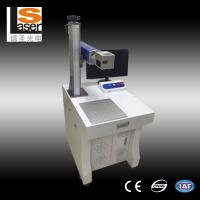 Buy cheap Fiber Laser Marking Machine 20w Stainless Steel Flange Engraving Date Number Marking product