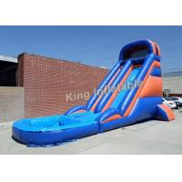 Buy cheap 20 Feet Huge Inflatable Water Slide With Constant Blowing System from wholesalers