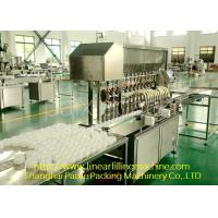 Customised Automatic Bottle Filling Machine Single Or Two Adhesive Labels