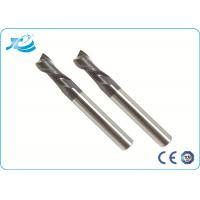 China Diameter 1 - 25 mm High Speed Steel End Mill 55 - 65 HRC TiAlN TiCN TiN Coating on sale