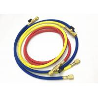 Buy cheap Air Conditioning Service Freon Refrigerant Hoses With Ball Valves For R410A product