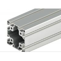 Buy cheap Decorations Extruded T Slot , Silver Anodized T Slot Aluminium Extrusion product