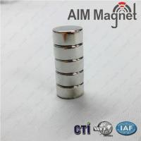 China Dia 4 x 4.5mm Thick Neodymium (Rare Earth) Disc Neodymium Magnets on sale