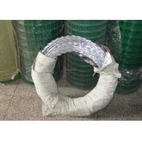 Buy cheap High Strength Hot Dipped Galvanized Razor Barbed Wire For Security Fencing product