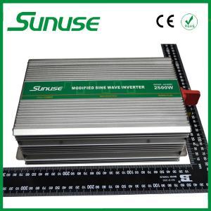 China 2500W Battery PoweredModified Sine Wave Inverter 12v 220v For Home / Office on sale