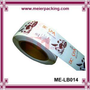 Buy cheap High Quality Logo Printed Self Adhesive Label,Custom Glossy Laminated Vinyl Sticker ME-LB014 product