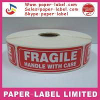 Buy cheap High Quality Packaging Warning Labels For Machine product