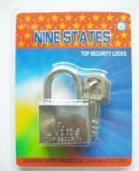 Buy cheap New Square Iron Padlock with Blade Key product