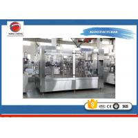 Buy cheap Full Automatic 3 In 1 Carbonated Drinks Filling Machine 5.6kw 3000 X 2000 X 2200mm product
