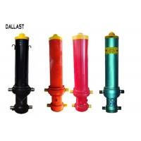 Buy cheap Single Acting Telescopic Hydraulic Cylinders FC Type for Dump Trailer Front Lift product