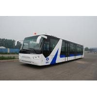 Buy cheap White / Red / Yellow Airport Passenger Bus , 4 Stroke Diesel Engine Bus product