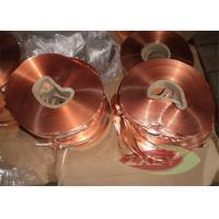 Buy cheap Oxygen Professional 1181 Copper Foil Roll Sheet , Copper Strip product