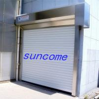 Buy cheap Rmote Control Aluminum Alloy Security Door Rolling Up Door For Warehouse product
