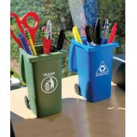 Buy cheap Trash & Recycle Can Pen Holder Set product