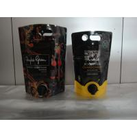 Buy cheap Laminated Material Printed Stand Up Pouch With Spout / Juice Or Wine Bag In Box from wholesalers