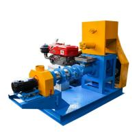 Buy cheap Diesel Engine Fish Food Pellet Making Machine For Fish Feed Processing Plant product