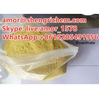 China good quality Trenbolone yellow color steroid powder for losing fat CAS 10161-33-8 on sale