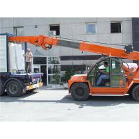 10ton crane telehandler for  marble slab loading and unloading from 20GP container