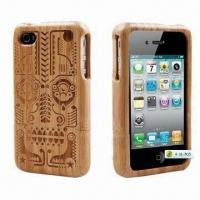 Buy cheap Bamboo Case for iPhone 4, Various Styles are Available, Eco-friendly Design product