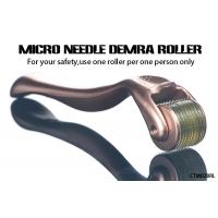 Buy cheap Gold Handle Micro Needle Derma Roller for Body  /  Facial Aesthetic Skin Care product