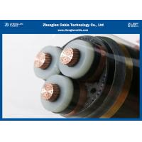 Buy cheap 12/20KV MV 3C Power Cable (Umarmoured) ,XLPE Insulated Cable according to IEC 60502/60228 (CU/XLPE/LSZH/DSTA) product