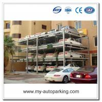 China 4 Layers Hydraulic Puzzle Car Parking System/Automated Parking Systems Solutions/ Automatic Parking Garage Supplier on sale