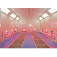 Buy cheap Car Paint Equipment Infrared Spray Booth Centrifugal Fan Heating Separate Control product