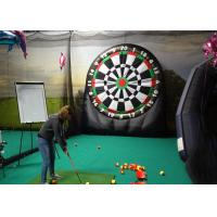 Buy cheap Kids And Adults Giant Inflatable Golf Dart Boards With  Balls For Parks , Squares , Gardens product