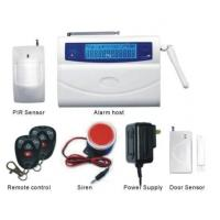 Buy cheap 28 Wireless Business GSM home burglar alarm systems 110dB, residential alarm systems from Wholesalers