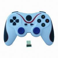2.4GHz Wireless Computer Game Controller with Auto-sleep Function