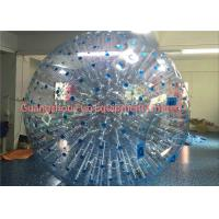 Buy cheap Giant Clear Inflatable Human Sized Hamster Ball Zorbing Water Walking For Playground from Wholesalers