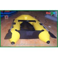 Buy cheap Heat Sealed Customized 0.9MM PVC Inflatable Boats , Rigid Inflatable Boat product