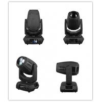 Buy cheap Linear motorized Zoom moving head LED DJ Light with fan 16 / 18 DMX channels product