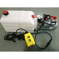 Buy cheap DC 12V Motor Horizontal Single Acting  Mini Hydraulic Power Packs for Dump Trailer from Wholesalers