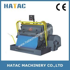 China Economic Die Cutting and Creasing Machine,Paperboard Embossing Machine,Metal Punching Machine on sale