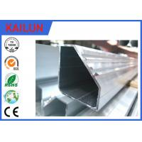 Buy cheap Hollow Tube 5050 Aluminium Frame Profile With Silver Anodizing Surface Treatment from Wholesalers